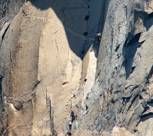 The Great Roof, El Cap. 2013. Tom Evans photo